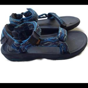 Teva Sport Sandals Blue Ankle Strap Adjustable 5